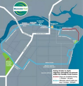 Bluewater Trail map