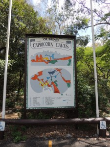 Caves sign
