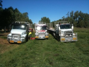 3 Road Trains