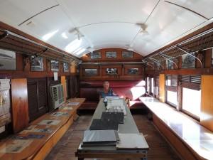 WMC inside Train