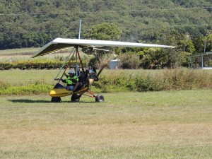 Microlight touch down