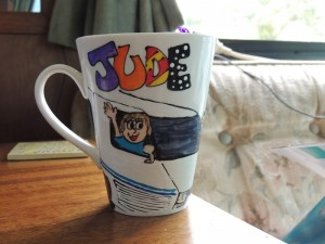 Jude's cup front