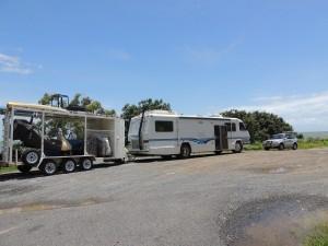 Coast camp spot