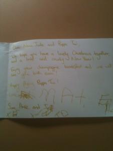 Kids Christmas Letter