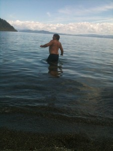 Kinloch Lake Taupo cold