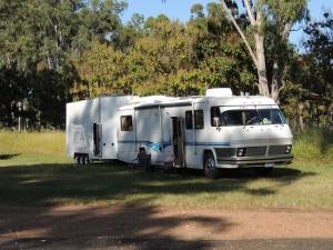 Ceratodus Camp site