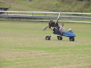 Giving Microlight a run