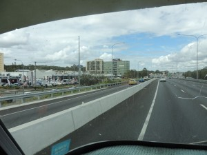 Heading towards Gold Coast